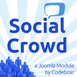 Social Crowd Module for Joomla by Codeboxr
