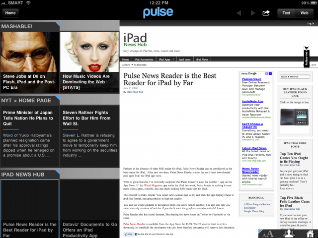 Pulse_News_Reader_for_iPad_Screenshot_2