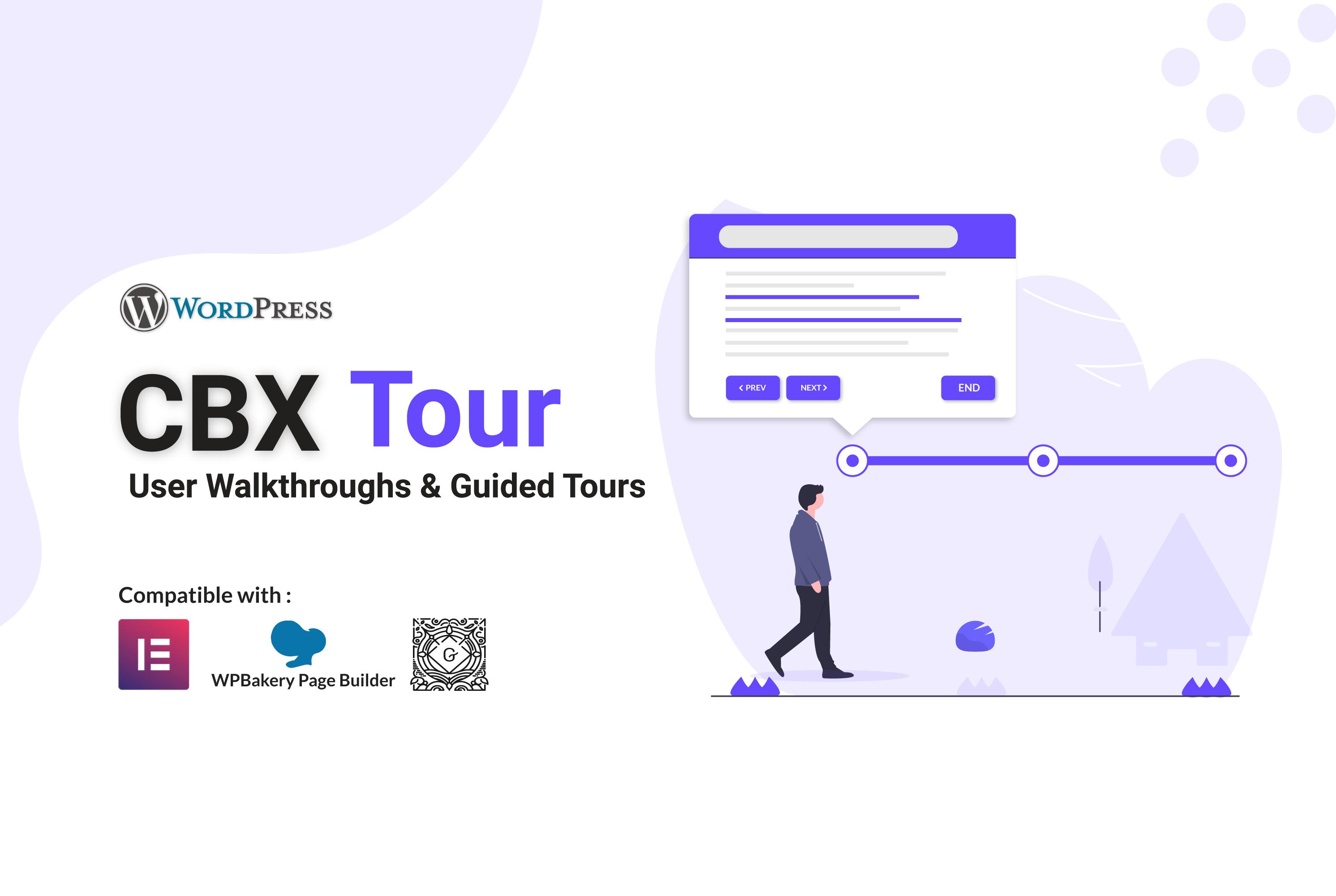 CBX Tour – User Walkthroughs & Guided Tours for WordPress