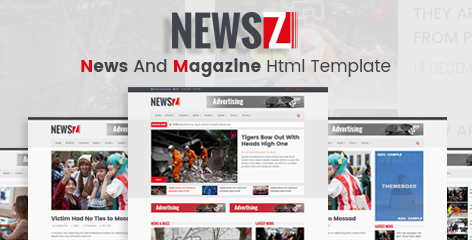 NewsZ - News & Magazine Html Template