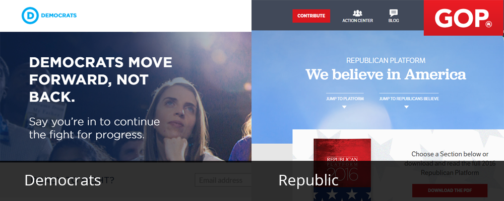usa political party website