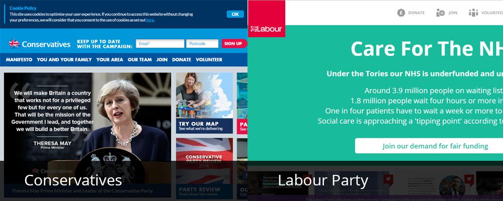 uk political party website