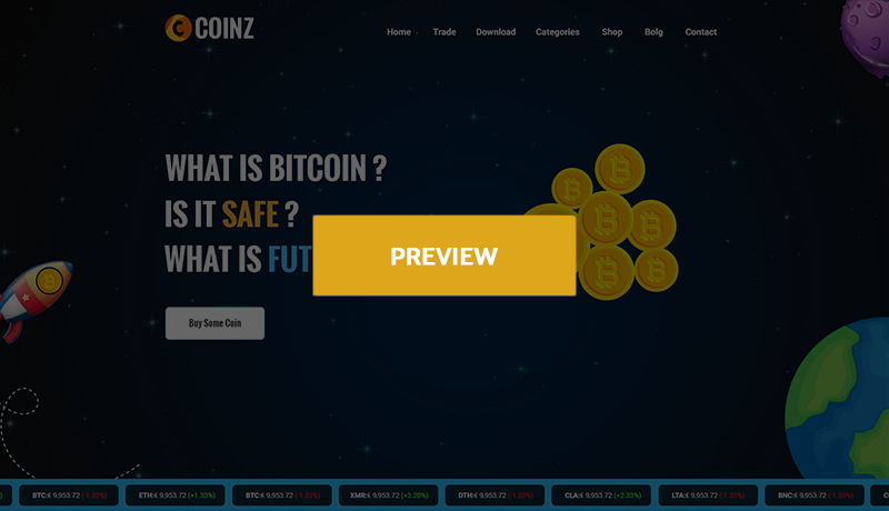 Coinz crypto currency html template codeboxr coinz html demo2 maxwellsz