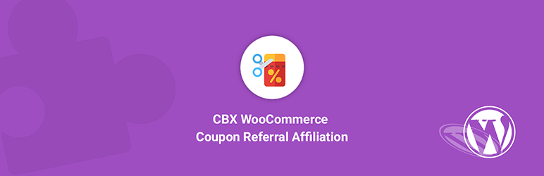 CBX WooCommerce Coupon Referral Affiliate addon for WordPress