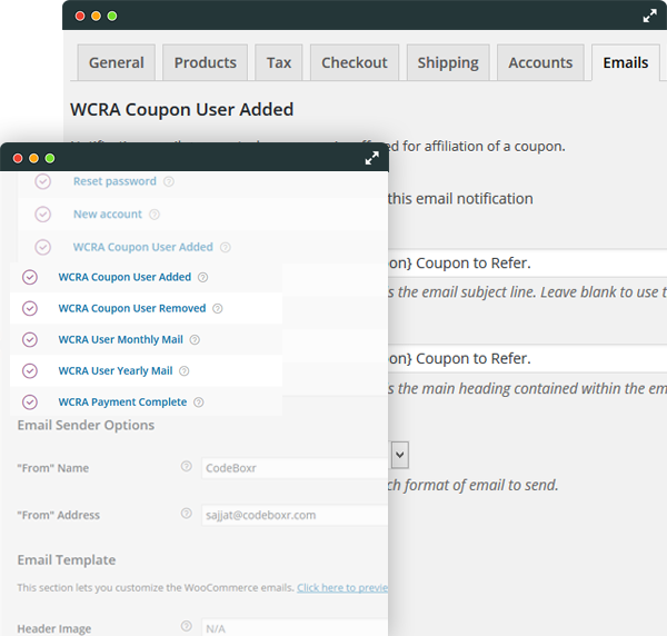 WCRA-Email Management