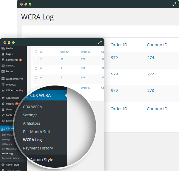 WCRA-Log Management