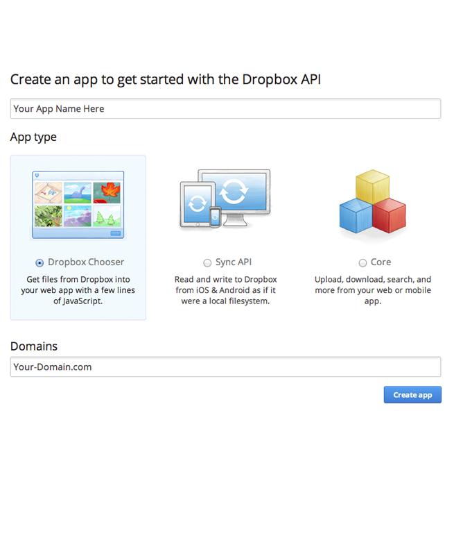Dropbox File Chooser for Joomla Editor