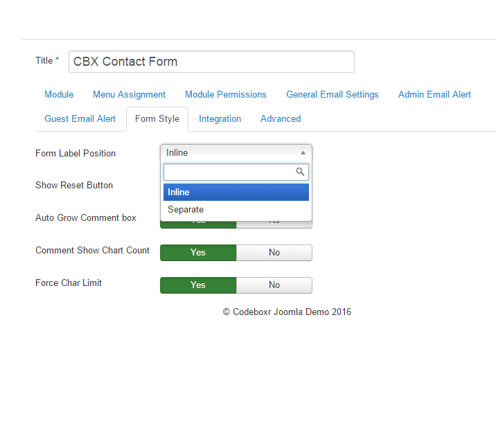CBX Secured Contact Form For Joomla | Codeboxr