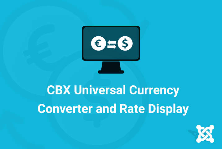 CBX Universal Currency Converter & Rate Display for Joomla