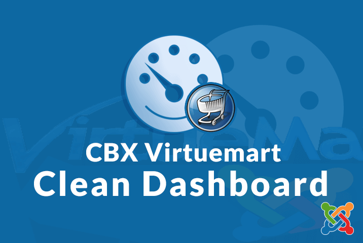cbx virtuemart clean dashboard