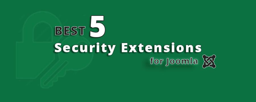 Best 5 Security Extensions for Joomla | Codeboxr