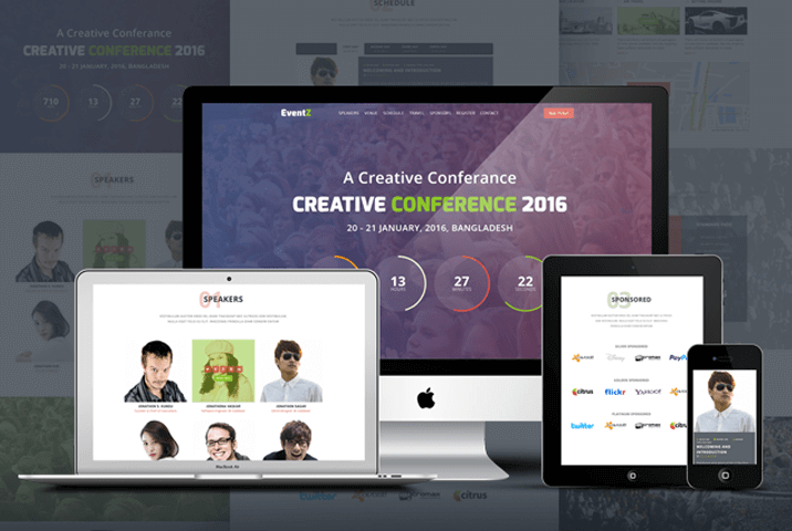 Ceventz conference event html theme