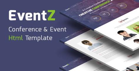 Ceventz conference event html theme