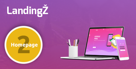 Landingz – One Page App and Product Landing Html Template