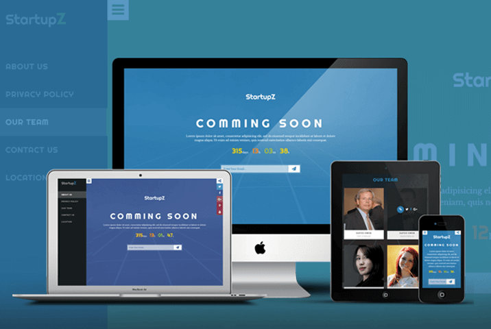 startupz coming soon html theme