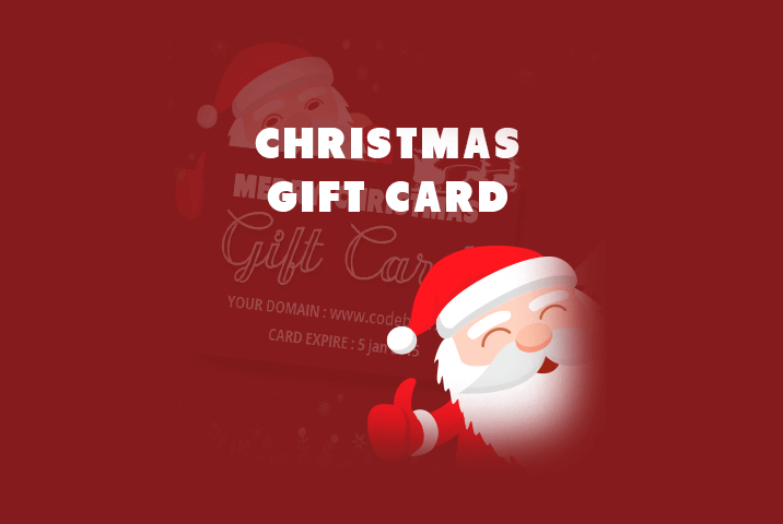 free christmas gift card psd codeboxr
