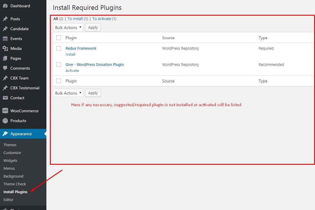 WPPoliticalz-Plugin Install